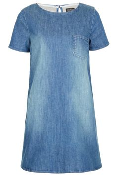 Topshop Denim Dress, £40