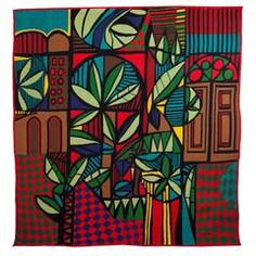 """""""Janela Da Casa Vermelha"""" Tapestry by Genaro de Carvalho"""