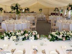 Wedding flowers at Dunglass Estates