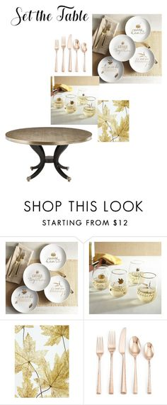 """""""Untitled #388"""" by bunnyfufu123 ❤ liked on Polyvore featuring interior, interiors, interior design, home, home decor, interior decorating, Pier 1 Imports, Lenox and setthetable"""