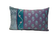 Purple pillow bohemian pillow hippy pillow by JoJosArtisticDesign, $78.00
