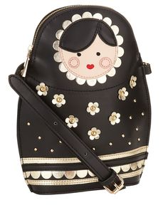 Russian Doll Bag, purse, matryoshka, babushka.