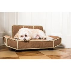 @Overstock - Let your pet relax and rest on this luxurious pet bed from Enchanted Home. A durable microfiber with a shearling trim and button embellishment highlights this bed.   http://www.overstock.com/Pet-Supplies/Enchanted-Home-Pet-Bauhaus/7569987/product.html?CID=214117 $79.99