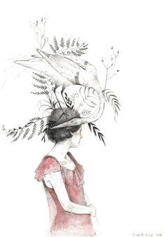 Retratos con sombrero  by Elizabeth Builes