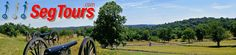 Gettysburg Segway Tours - Segway tours of the Gettysburg battlefield using Licensed Battlefield Guides, gettysburg tours