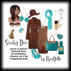 """""""Scooby Doo"""" by paper-dolls2 on Polyvore"""
