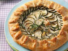 Rezept Zucchini-Kräuter-Galette