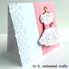 handmade cards for girls - Google Search