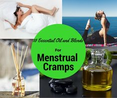 10 Essential Oil And Blends For Menstrual Cramps