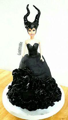 Maleficent Cake                                                       …