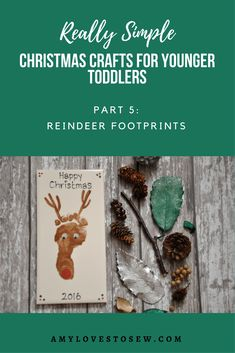 Make this fun Christmas keepsake with your toddler, and have a Christmas momento of their little footprint to treasure for years to come.  A great Christmas gift for family and friends. #footprintkeepsake #christmascraft