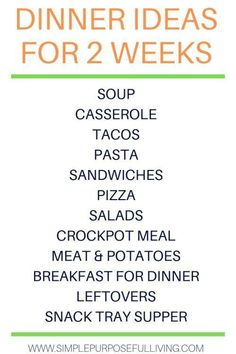 Try these dinner ideas when you meal plan for your family. Create a simple weekly meal plan for your family that matches your schedule and save time, money and stress. Simple tips and tricks to create a meal plan for your family. Monthly Meal Planning, Family Meal Planning, Budget Meal Planning, Meal Planner, Budget Meals, Family Meals, Budget Recipes, Free Planner, Happy Planner