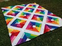 Billedresultat for modern rainbow quilt book