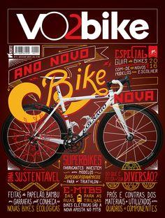 VO2bike   Special Edition Double Cover   Lettering on Behance