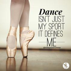 #Dance is not just a sport