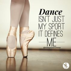 #Dance is not just a sport