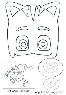 Pj MASK - Gufetta, Geco, Gattoboy http://angololiana.blogspot.it/2017/02/kit-creativo-superpigiamini.html