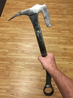 My first wrench battle axe
