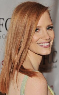jessica chastain I want your hair!!!!