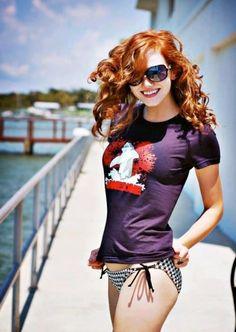 Truly a Heavenly #Redhead