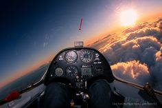 7h flying in the wave with a Duo Discus glider, time to land | by gc232