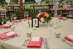 Rentals Unlimited/Equisite Events/Elm Bank/Russell Morin Fine Catering/ABC Tent