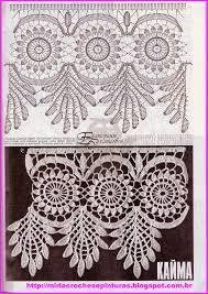 Resultado de imagem para colcha de tecido com croche
