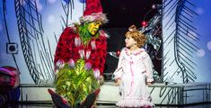 Buy How the Grinch Stole Christmas! The Musical tickets for their Chicago run at The Chicago Theatre from November Dr Seuss Grinch, Comedy Duos, Green Fur, Theatre Reviews, Cindy Lou, Charlie Brown Christmas, Grinch Stole Christmas, One Year Old, The Conjuring