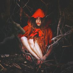 Red in hiding