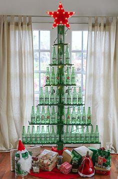 DIY Bottle Tree