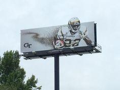 Georgia Tech 2015 Football Billboard 3