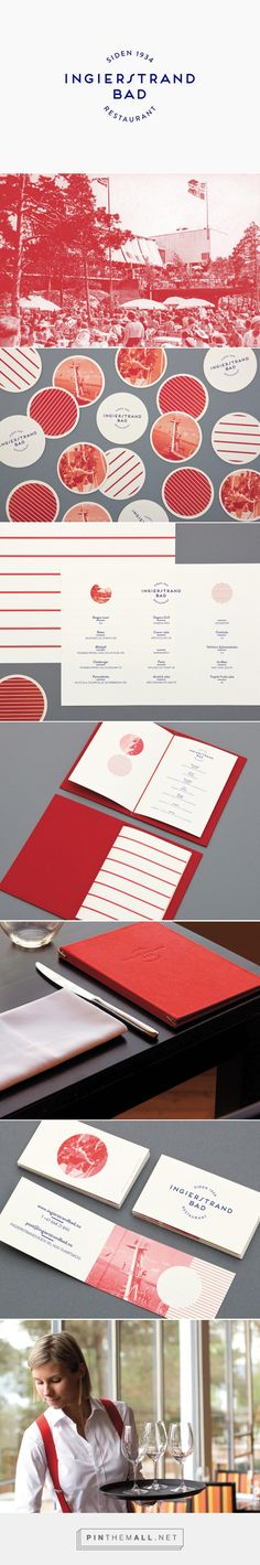 New Brand Identity for Ingierstrand Bad by Uniform - BP&O... - a grouped images picture - Pin Them All