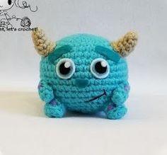 "By Janet Carrillo ""damn it Janet, let's crochet! Octopus Crochet Pattern, Plush Pattern, Crochet Animal Patterns, Stuffed Animal Patterns, Crochet Animals, Cute Crochet, Crochet Dolls, Crochet Baby, Knit Crochet"