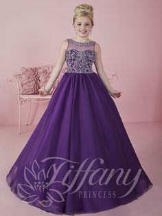 Flower Girl Vestido #13473 Lovely flower girls from tiffany collection #mipresentacion #presentaciondresses #vestidospara3años
