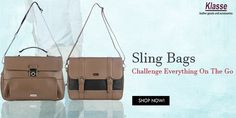 Looking for an affordable gift to your husband, partner or father? Why not give them something sleek but useful? Shop Now #SlingBags for Men at www.klasseleather.in.