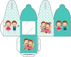 Caixa João e Maria Azul Tiffany: