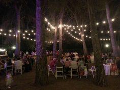 Wedding dinner at Masia Plana Mallorqui