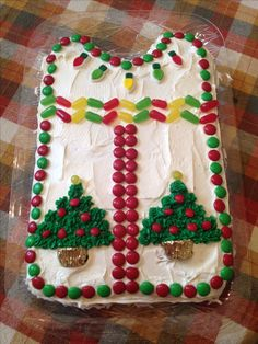 Ugly Sweater cake idea...no fancy decorating classes needed!