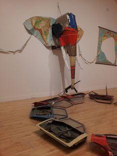 Bill Woodrow , Elephant 1984 at Tate Britain British sculptor Bill Woodrow has had a pretty i...