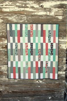 Finished Baby Quilt Tutorial