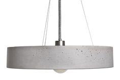 Rota Concrete Pendant Lamp ROTA by URBI ET ORBI on Clippings.com