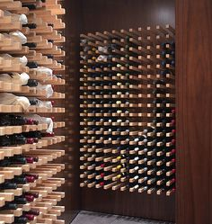Uncork a bottle from this trendy wine cellar.
