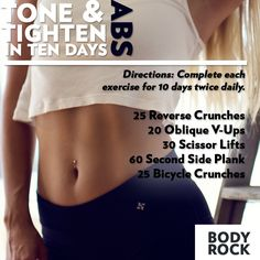 Tighten your abs. #abs #workout #fitness