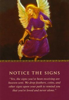 Free Angel Card Reading - Notice the Signs