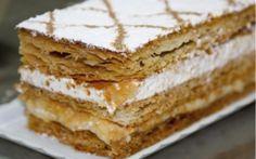 Varomeando: Milhojas con crema pastelera y nata Bakery Recipes, Dessert Recipes, Empanadas, Salvadorian Food, Flan, Sweet Dough, Thermomix Desserts, Crazy Cakes, Cakes And More
