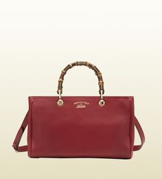 Bamboo Shopper Leather Tote Gucci Handbag · Mbox · Online Store Powered by Storenvy