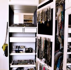 Alluring Built In Jewelry Storage Image Gallery In Closet Traditional  Design Ideas With Alluring Bracelet Holder Cabinet Door Storage Custom  Closet Drawer ...