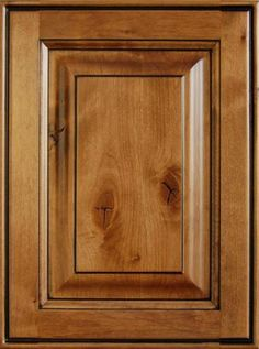 knotty alder stain color with glaze - This is what I want! - R.
