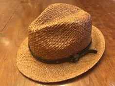 19bc80be3ac Shady Brady Raffia Straw Fedora Western Style Cowboy Hat  fashion  clothing   shoes