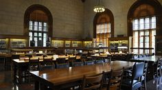 The Architecture and Planning Library and Alexander Architectural Archive are in Battle Hall, as well as the incredible Reading Room, @UT Libraries at UT Austin #utaustin #utsoa #architecture